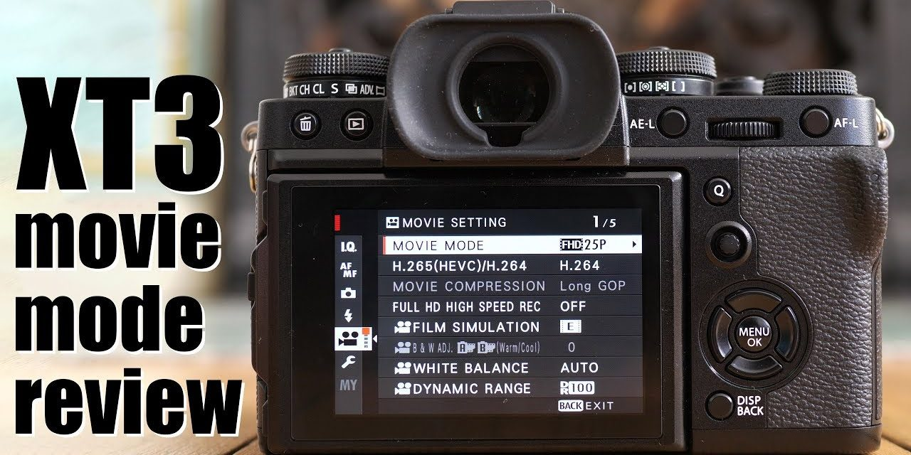 Fujifilm X-T3 Movie Mode Review - The Valuable Friends