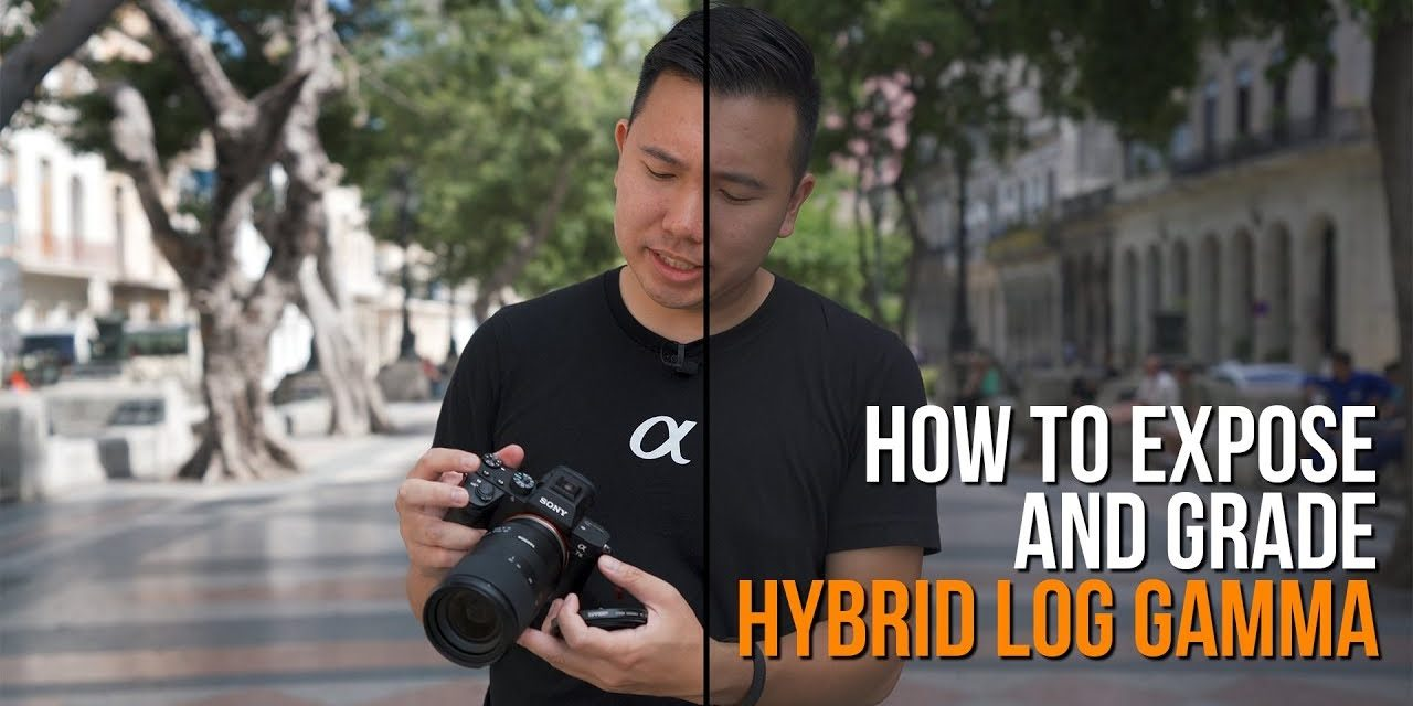 How To Expose And Color Grade Sony Hybrid Log Gamma - The